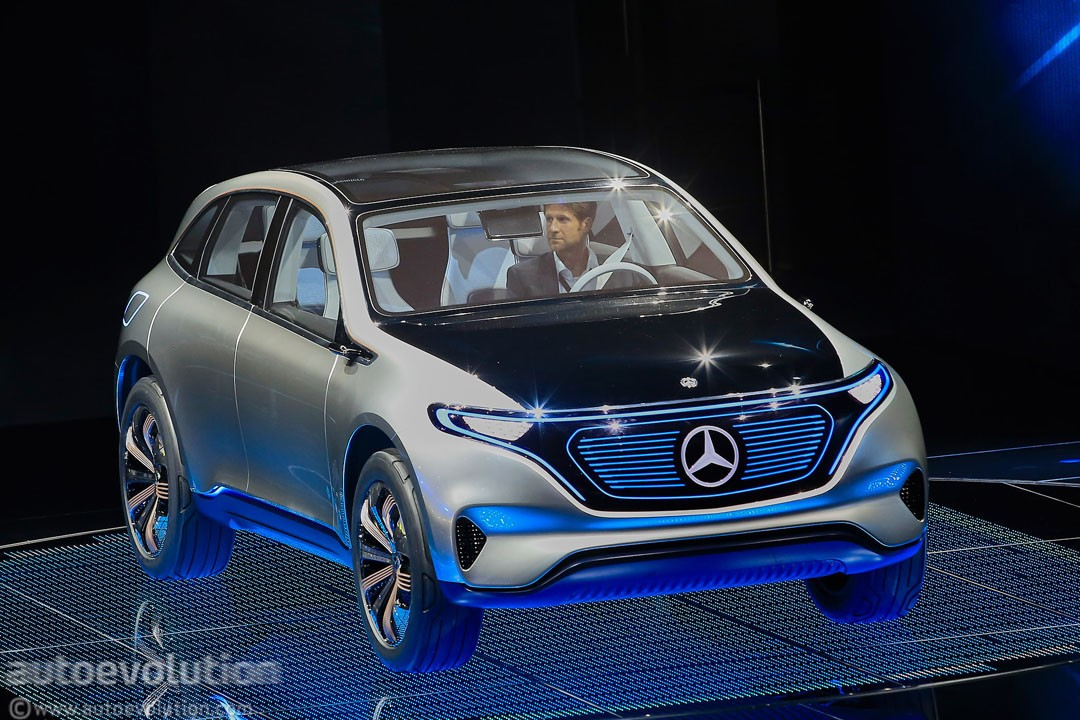 Mercedes Benz To Build Eq Electric Car At Smart Plant In