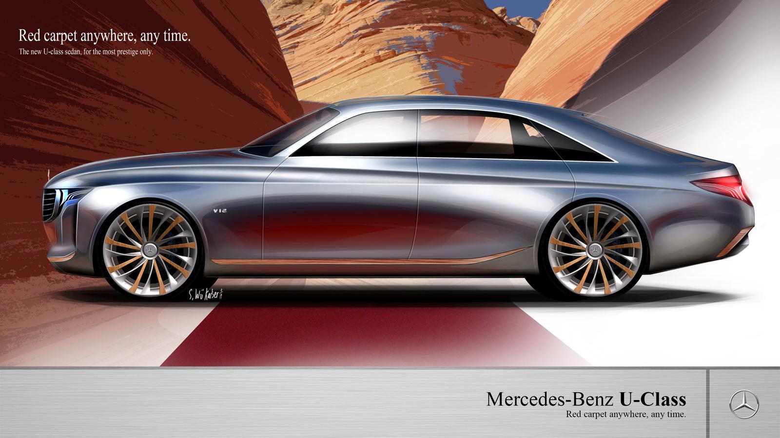 Mercedes Benz U Class Concept Redefines Luxury As An