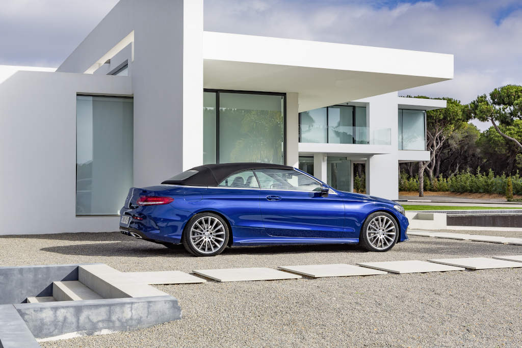 Mercedes-Benz Unveils Its C-Class Cabriolet Range, Including the AMG ...