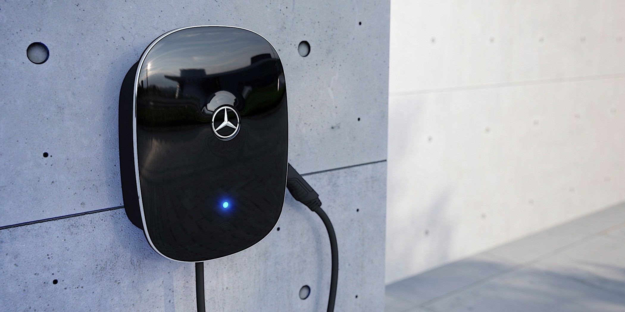 Mercedes Benz Upgrades Its Charging Wallboxes Autoevolution