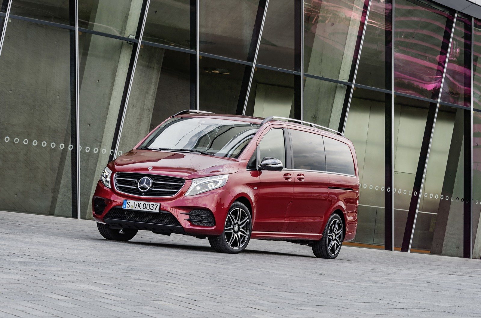 Mercedes Benz V Class Lineup Adds Rise And Limited Models