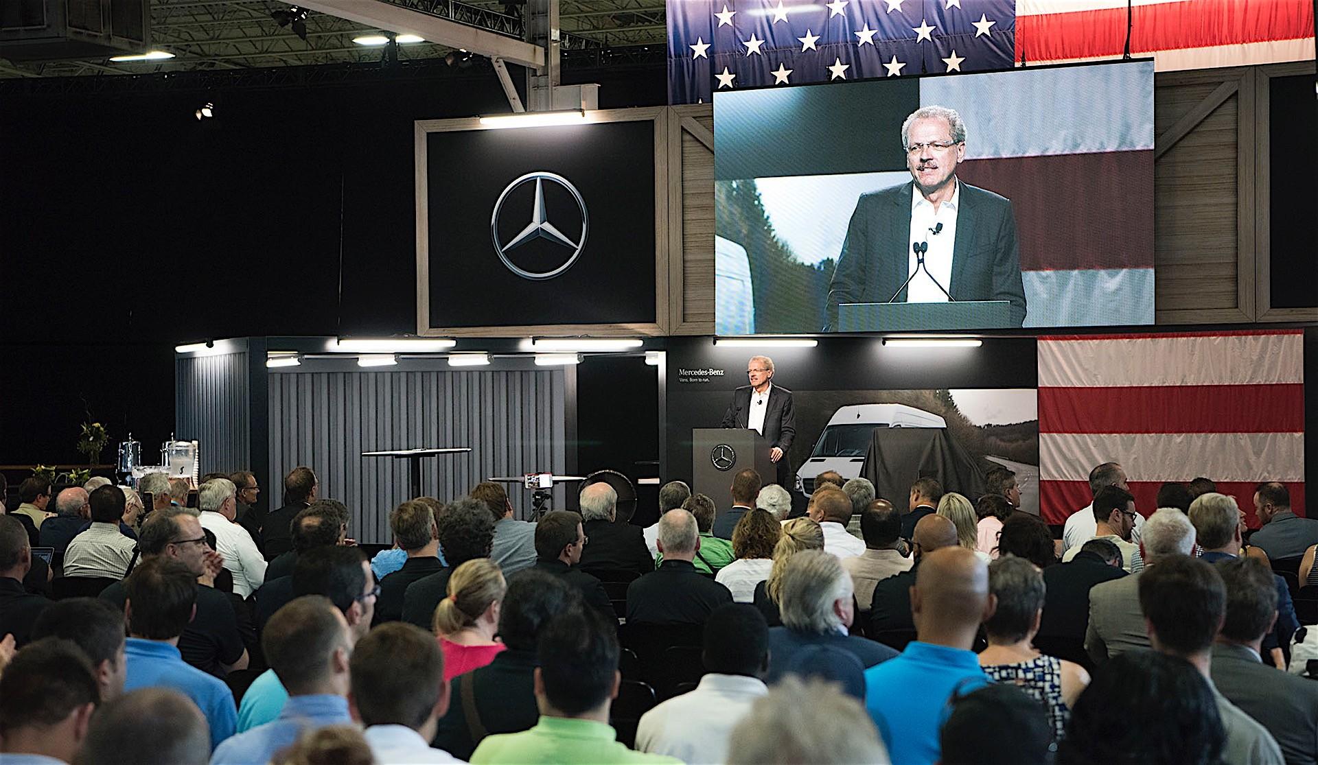 Mercedes-Benz Starts Construction Work On U S  Sprinter Van Factory