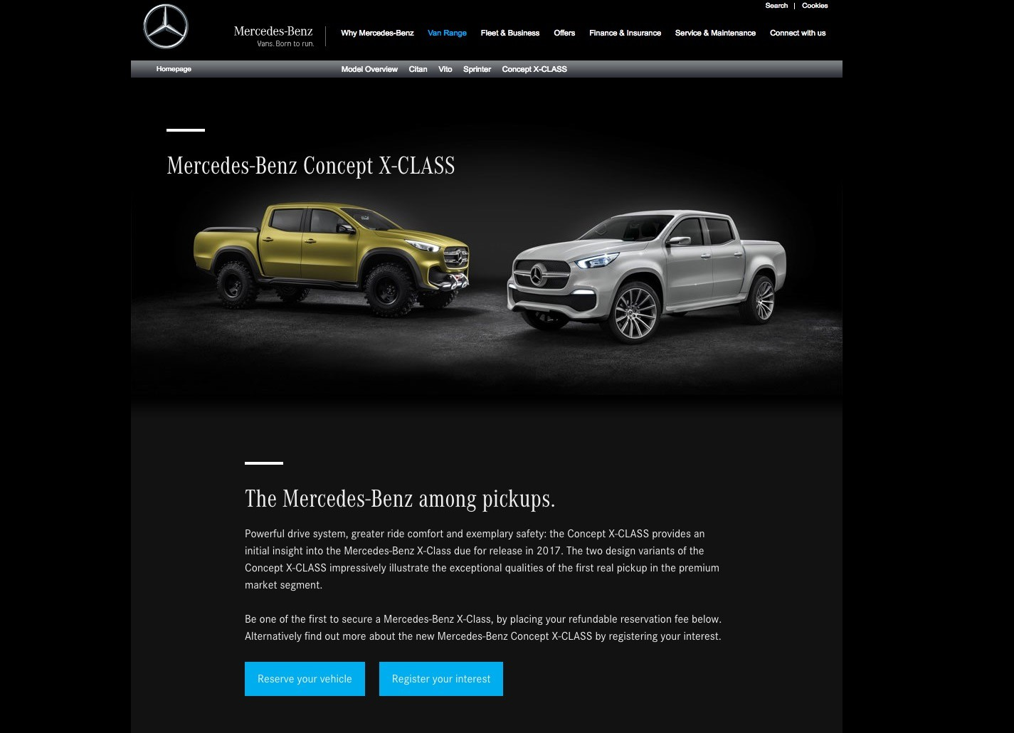 S63 amg coupe and actros make love give birth to new vito for Mercedes benz customer service email address