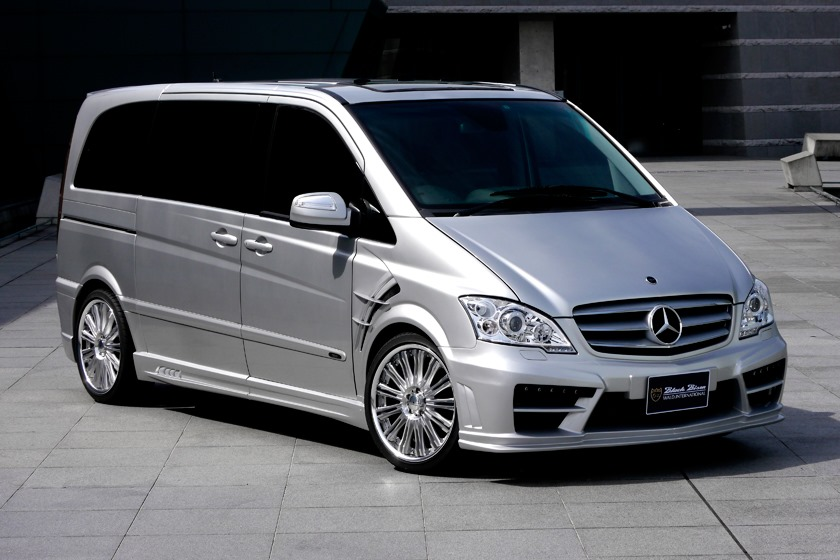mercedes benz viano tuned by wald international autoevolution. Black Bedroom Furniture Sets. Home Design Ideas