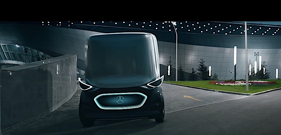 Mercedes Benz To Create Line Of Autonomous Vans Inspired By