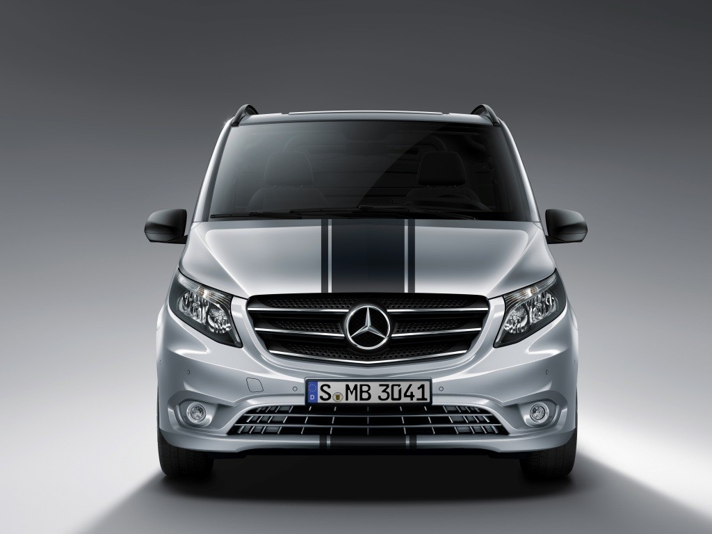 Mercedes-Benz Vito Sport Line Gets Racing Stripe and ...