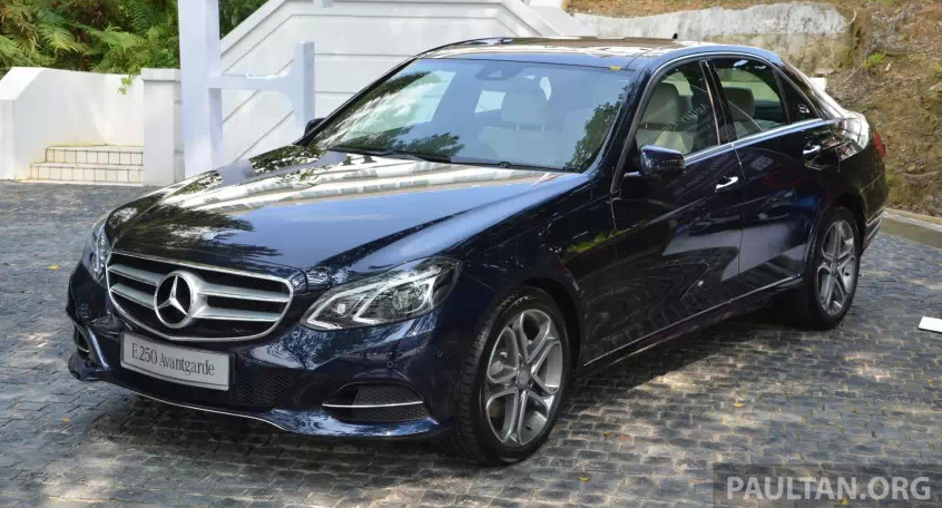 mercedes-benz w212 e-class facelift launched in malaysia
