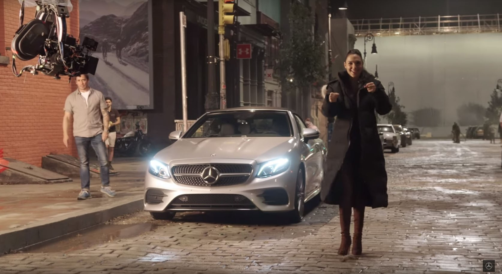 Mercedes Benz Wants You To Know What The Justice League Superheroes