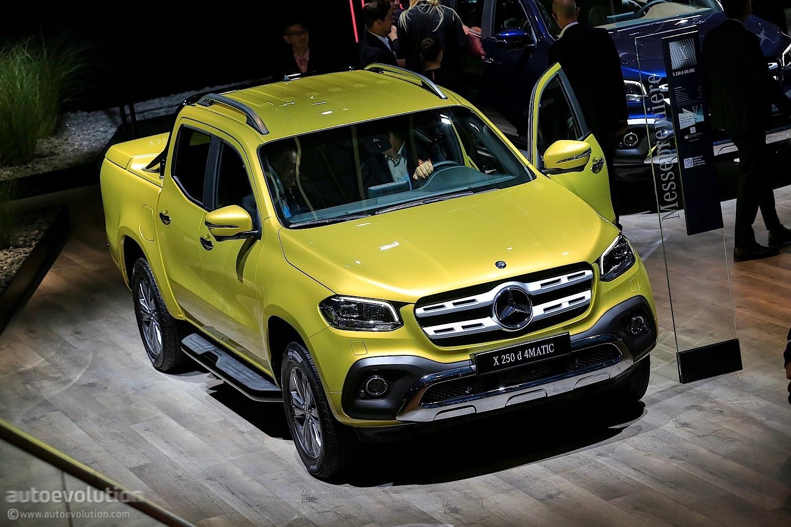 Report: Mercedes-Benz X-Class V8 Pickup Truck Considered - autoevolution