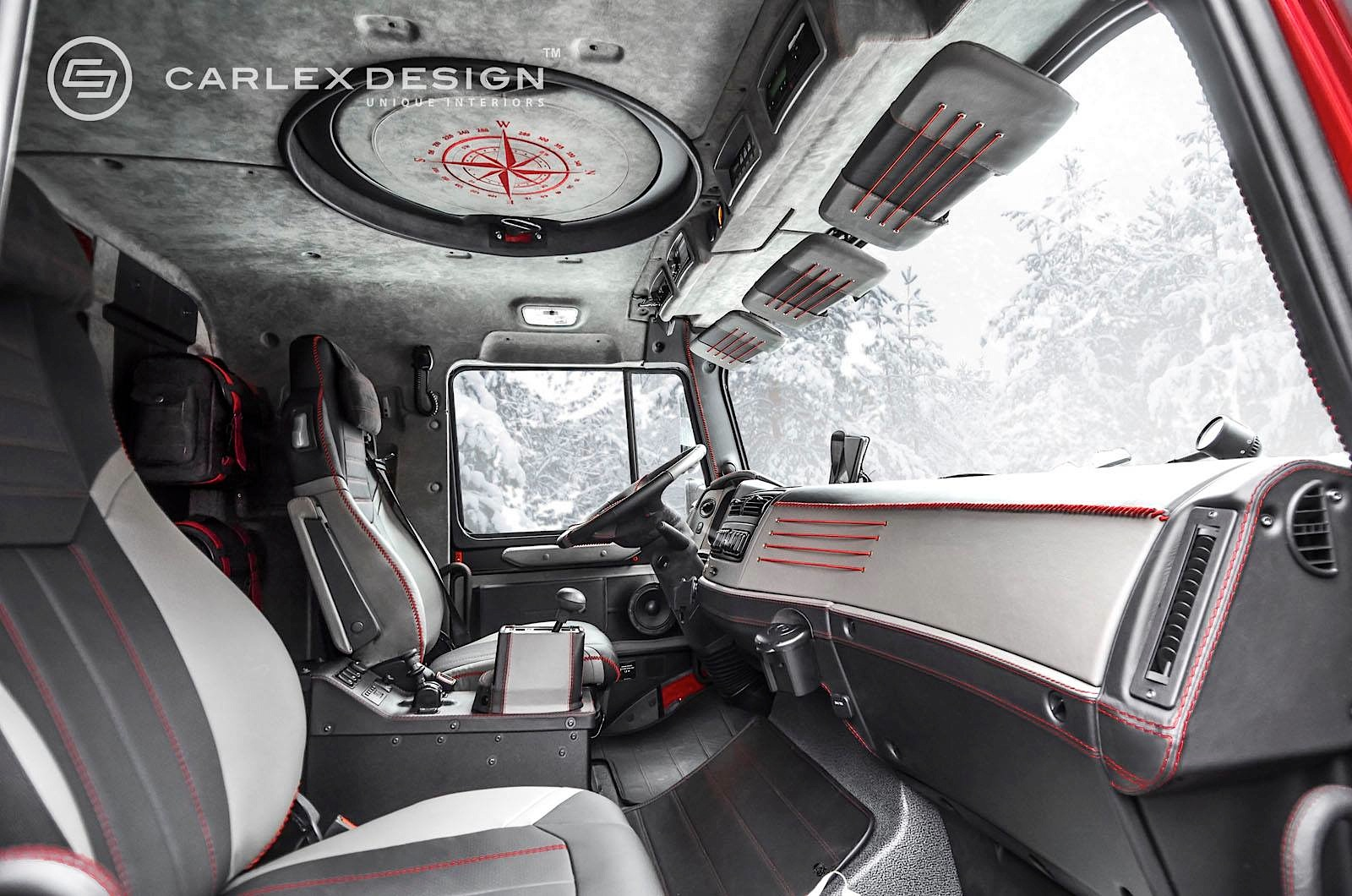 Mercedes-Benz Zetros 6x6 Gets Opulent Interior From Carlex ...