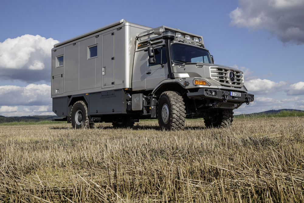 mercedes benz zetros mobile home is not your usual