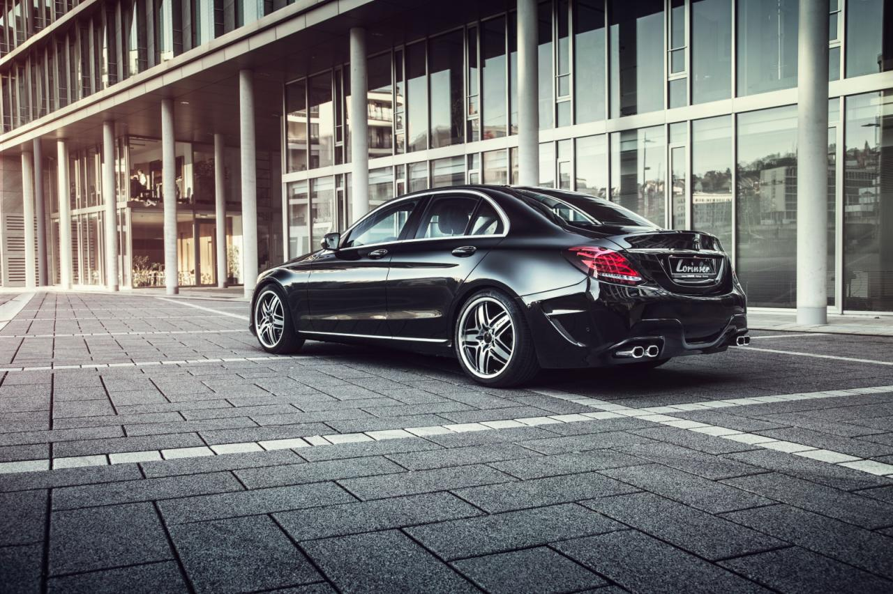 mercedes c400 4matic embraces the good life from lorinser. Black Bedroom Furniture Sets. Home Design Ideas