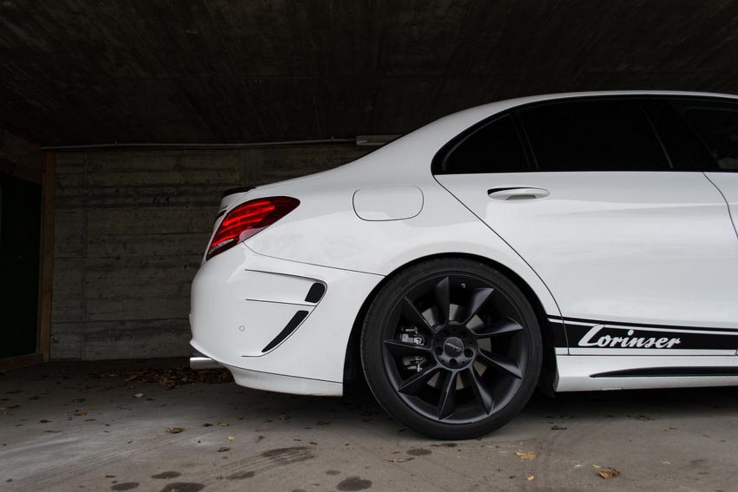 Mercedes C450 AMG Tuned To 435 HP By Lorinser Ruined With