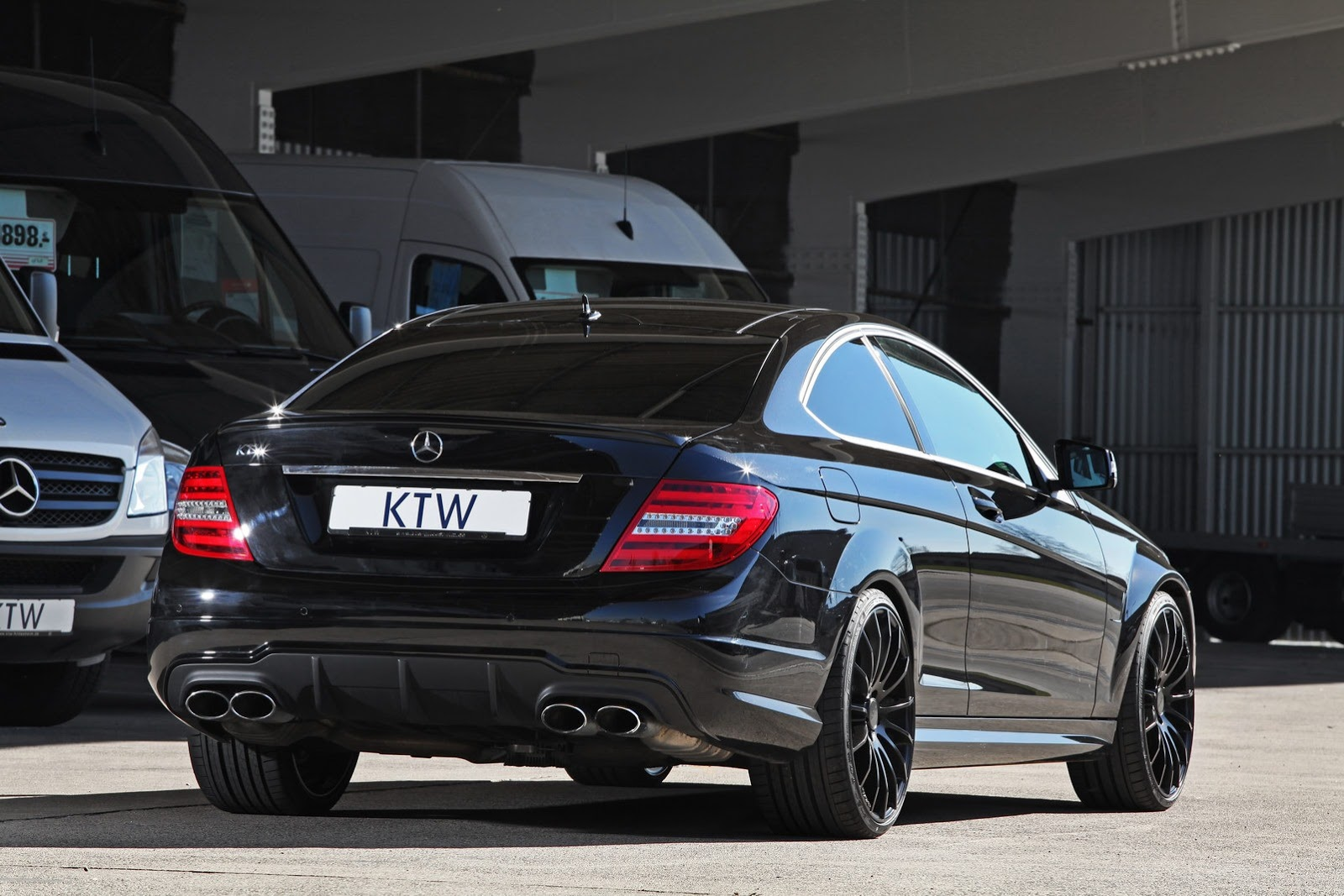 Mercedes c63 amg tuning by ktw autoevolution for Mercedes benz tuning