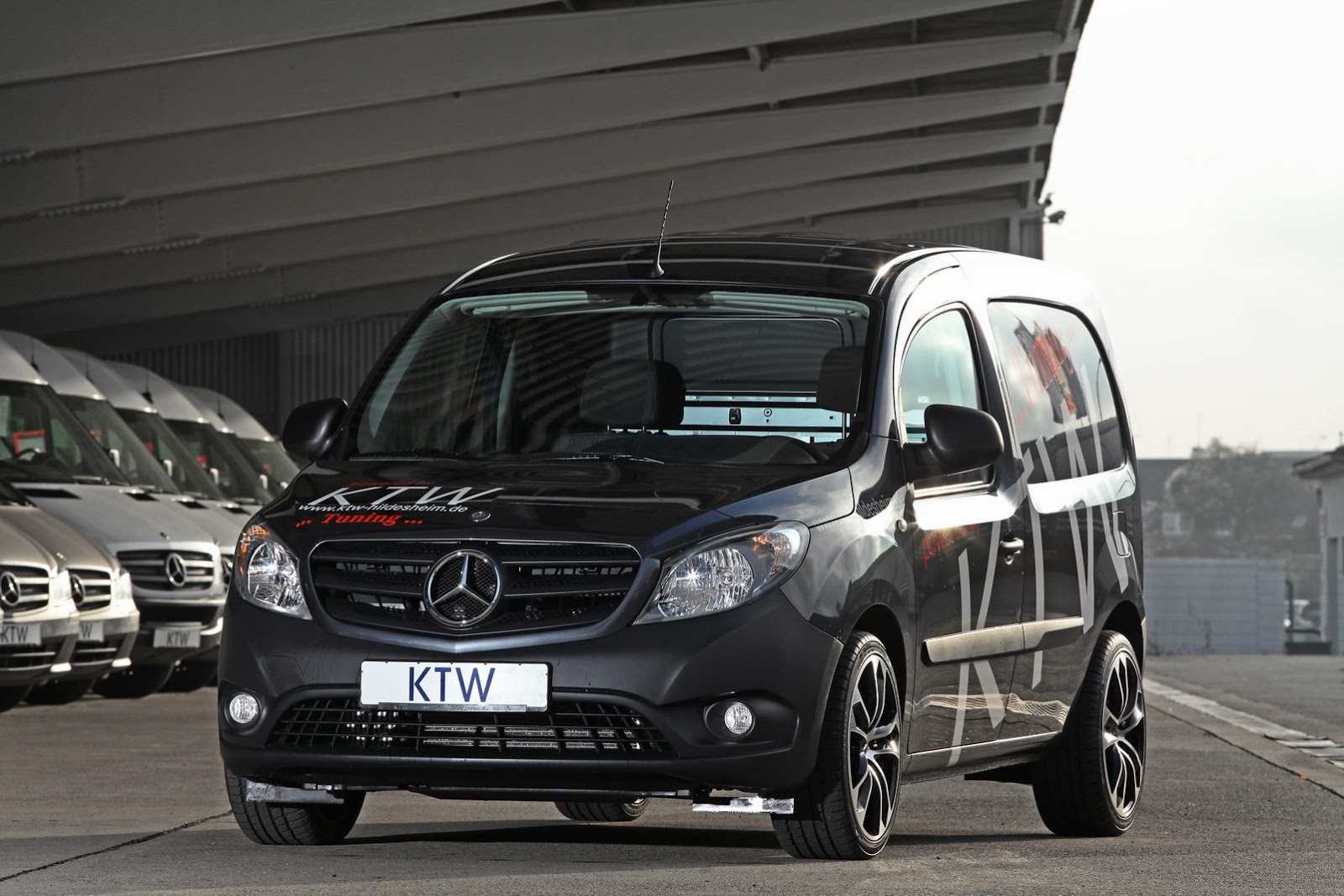 mercedes citan by ktw tuning autoevolution. Black Bedroom Furniture Sets. Home Design Ideas