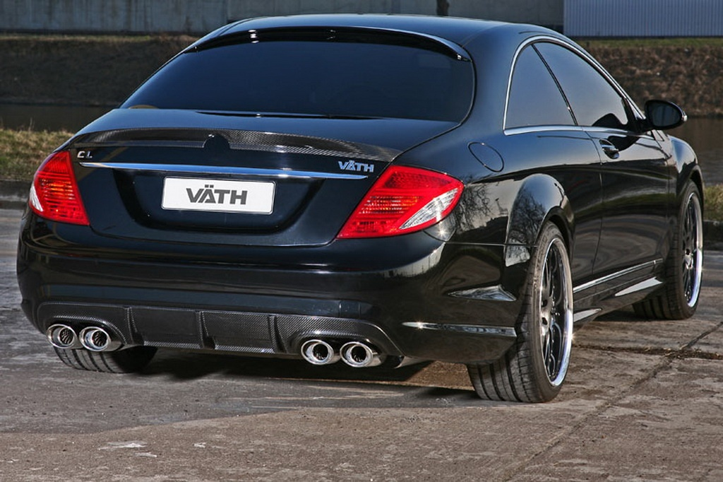 Mercedes Cl500 Gets Vath Treatment Autoevolution