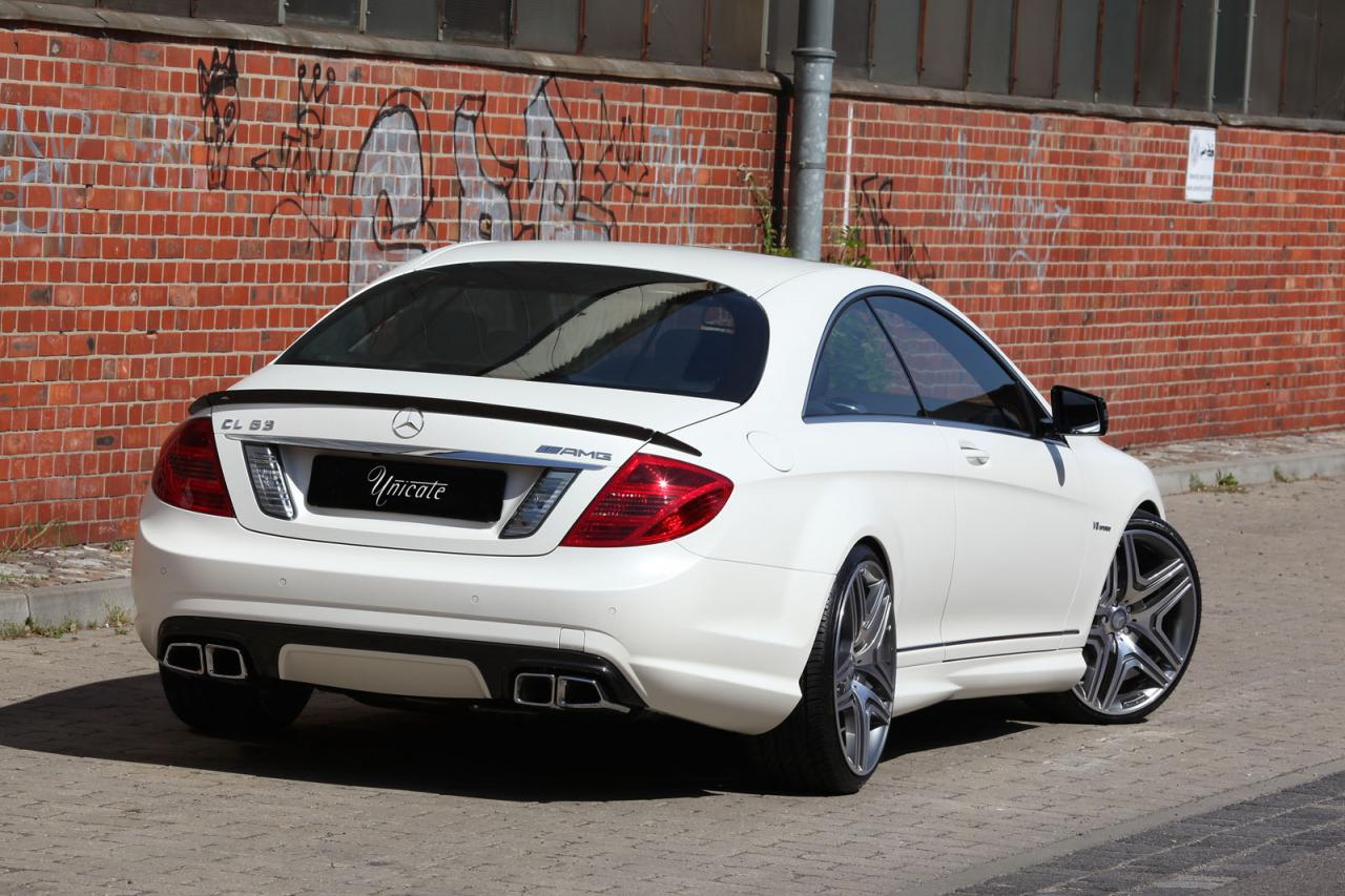 Mercedes cl 63 amg by unicate for Mercedes benz cl amg