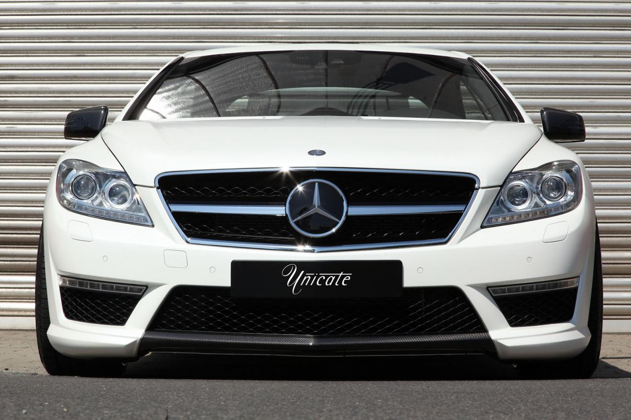 mercedes cl 63 amg by unicate autoevolution. Black Bedroom Furniture Sets. Home Design Ideas