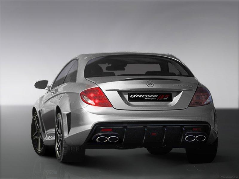 mercedes cl65 amg gets wide body kit from expression. Black Bedroom Furniture Sets. Home Design Ideas