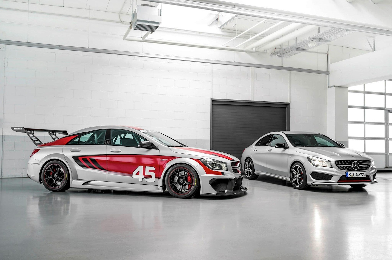 Mercedes Cla 45 Amg Racing Series Concept Coming To