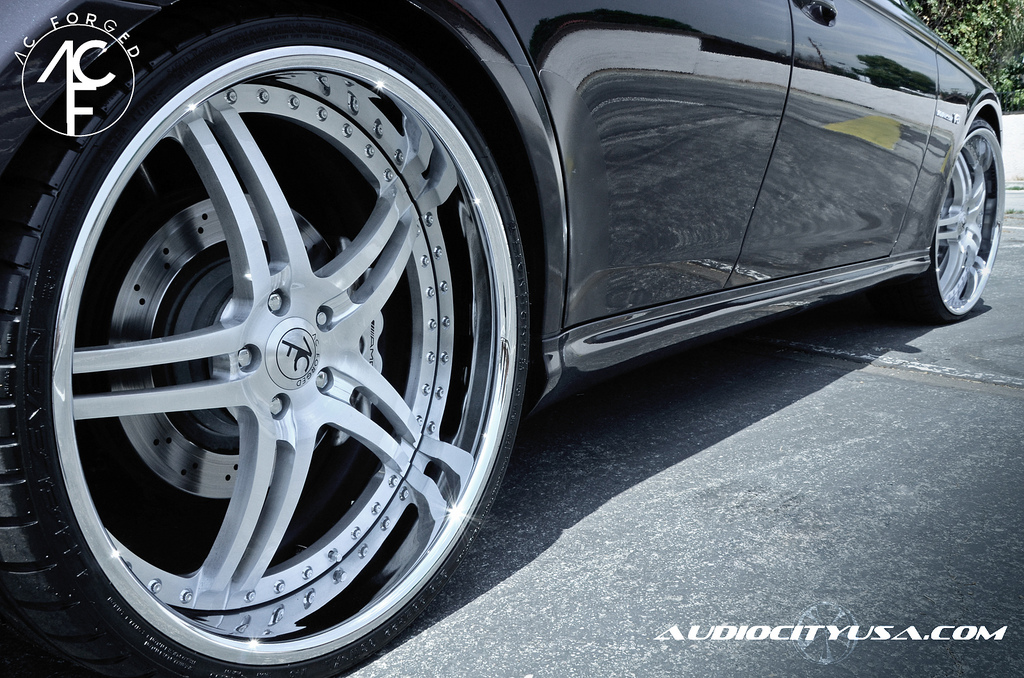 2008 Nissan 370z For Sale Mercedes CLS AMG Gets 22-inch AC Forged Wheels - autoevolution