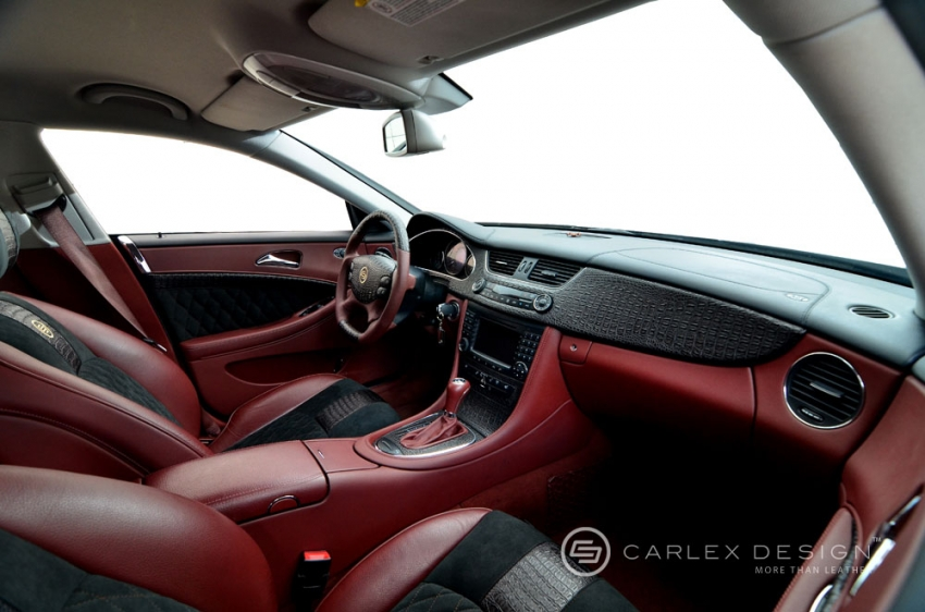 Mercedes Cls Interior Mercedes Cls Crocodile Leather