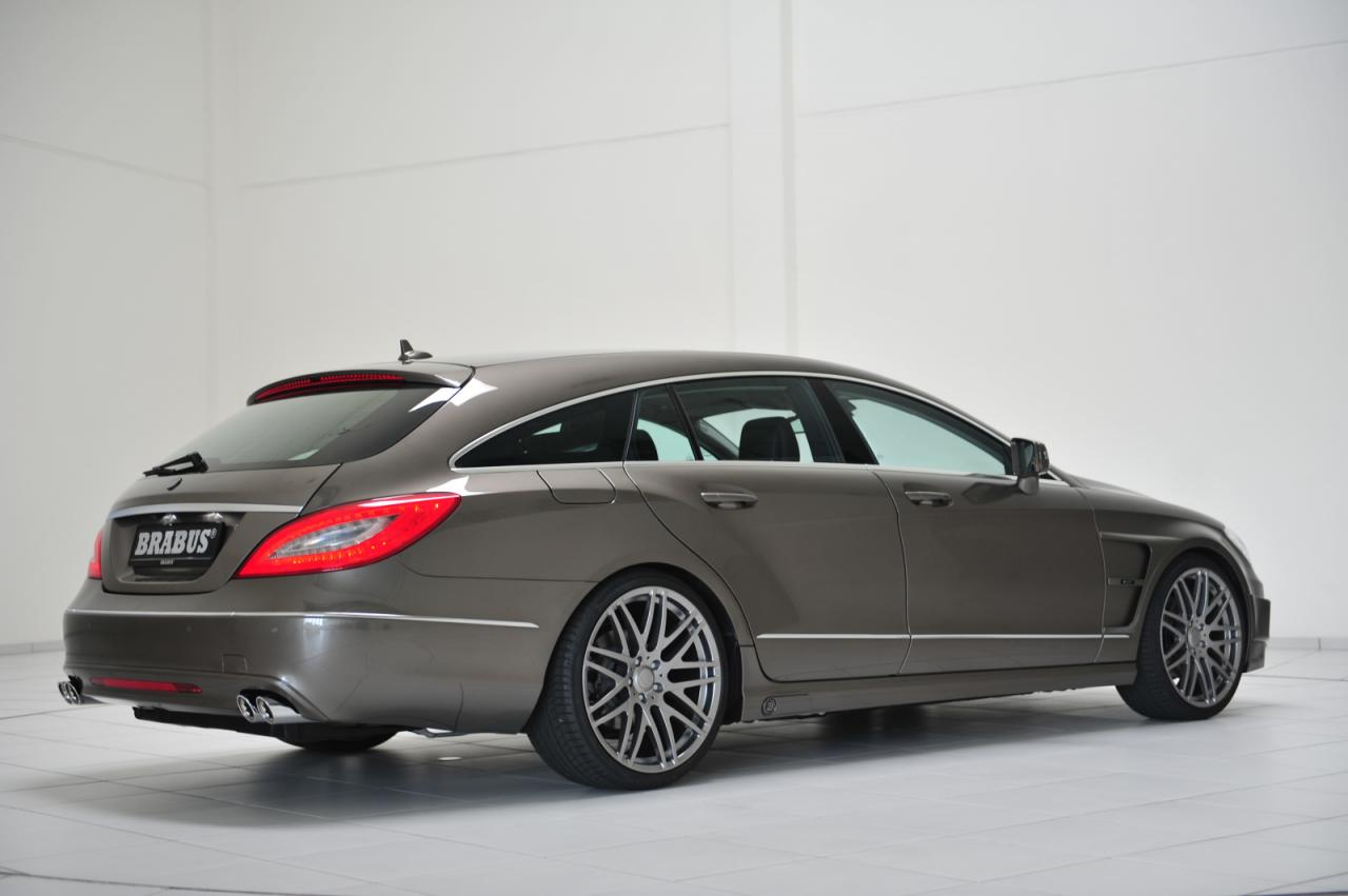 Mercedes cls shooting brake tuned by brabus autoevolution for Mercedes benz cls series