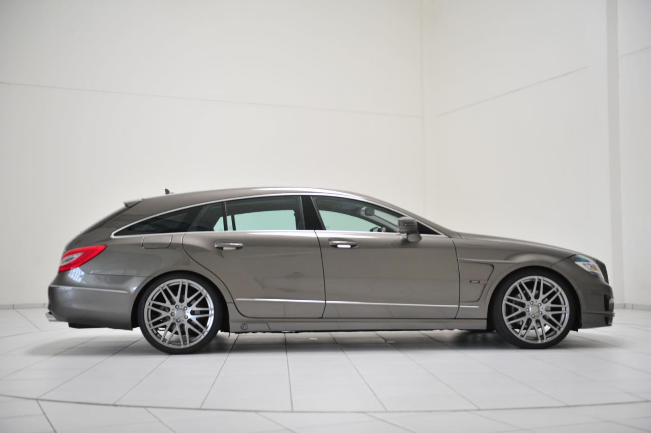 mercedes cls shooting brake tuned by brabus autoevolution. Black Bedroom Furniture Sets. Home Design Ideas