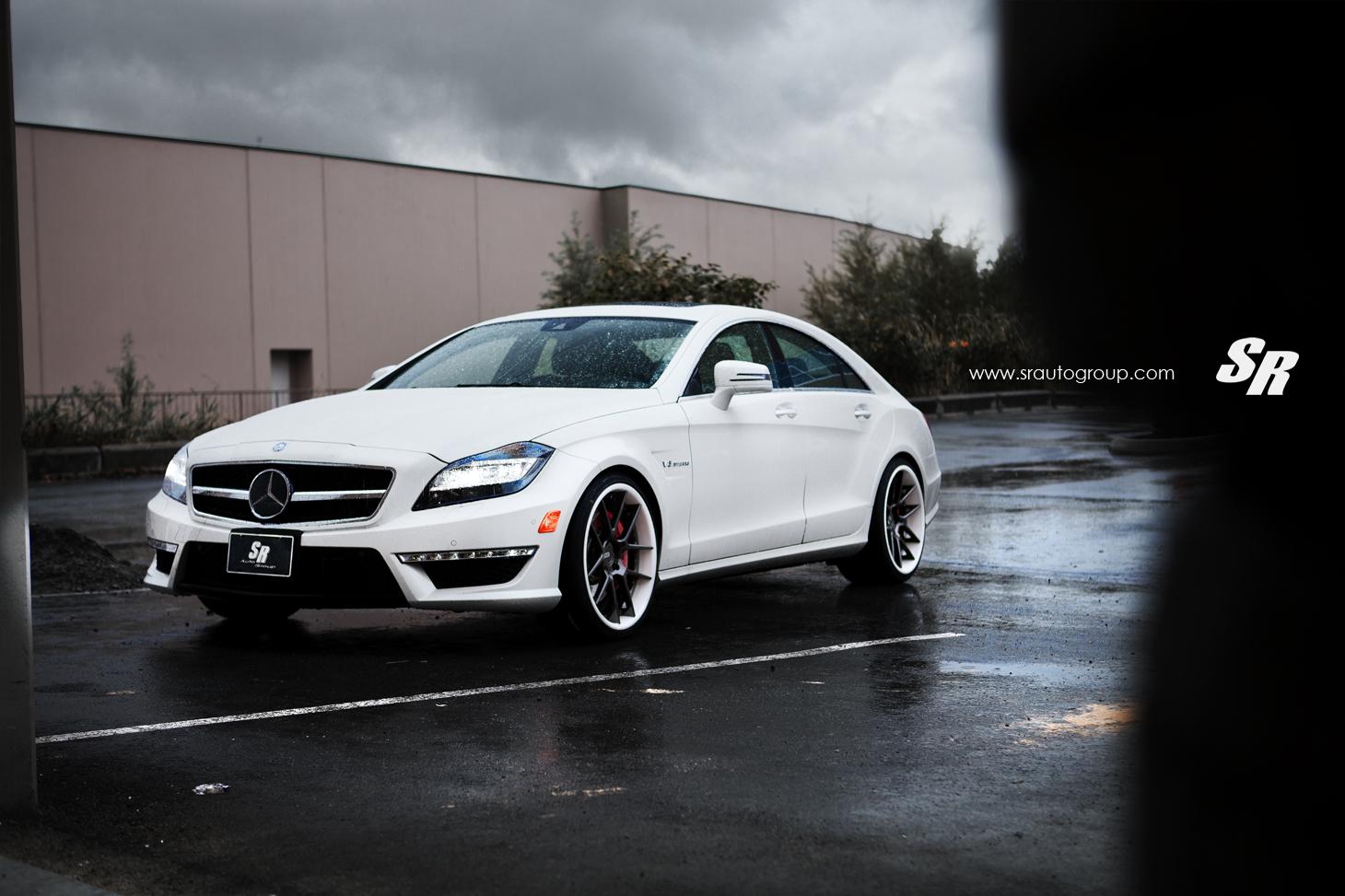 Mercedes Cls63 Amg On Adv 1 Wheels Autoevolution