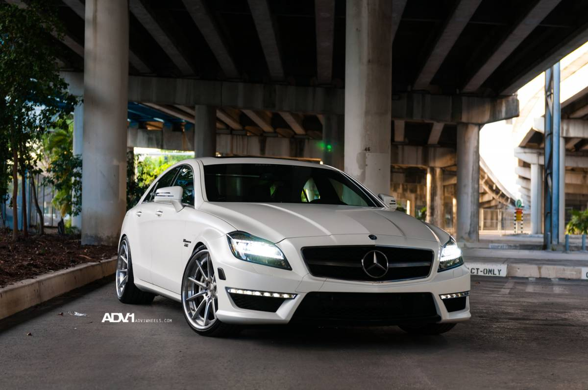 Mercedes Cls63 Amg On Adv 1 Wheels Autoevolution