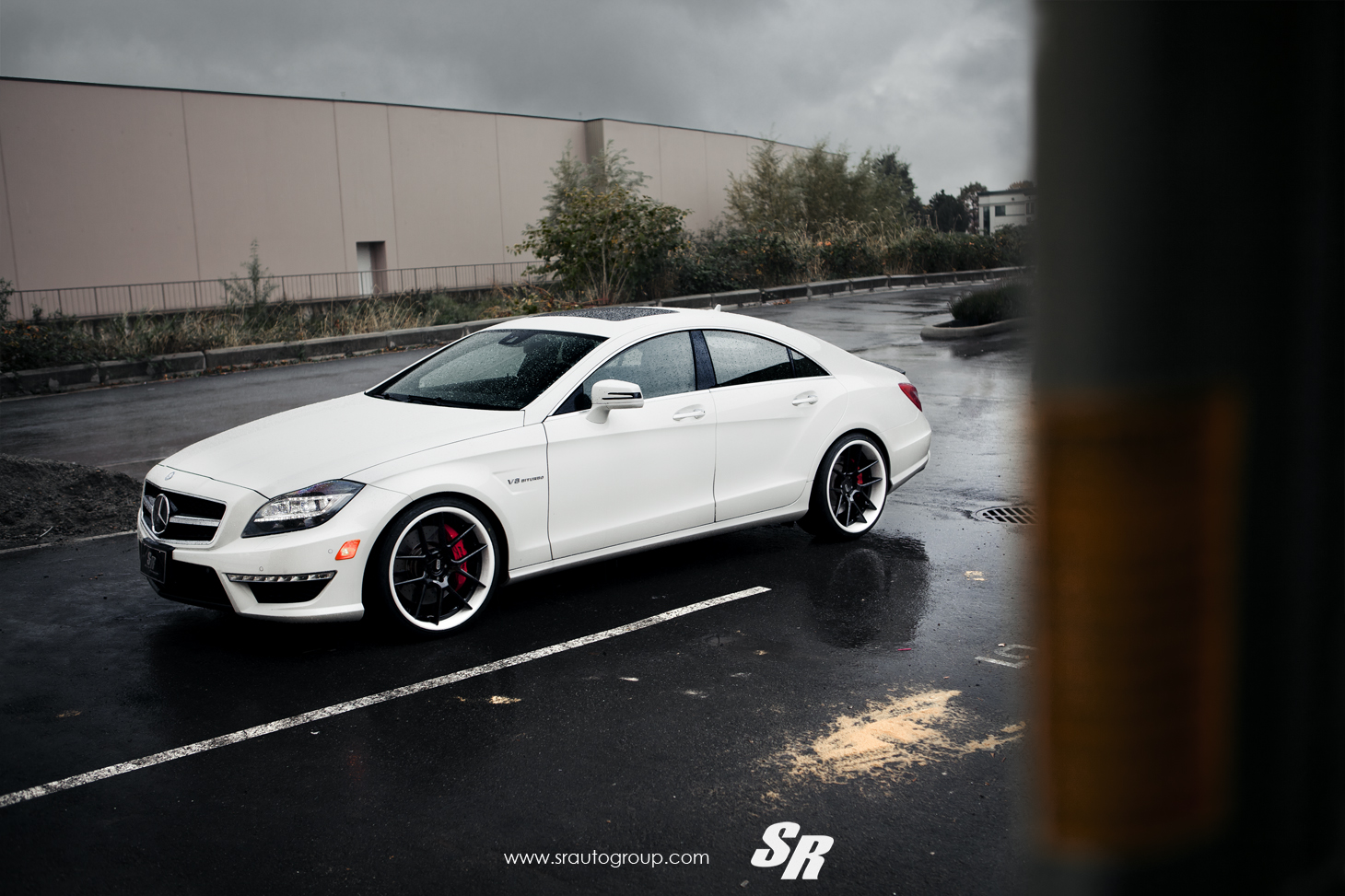 Mercedes Cls63 Amg On Adv1 Wheels Autoevolution