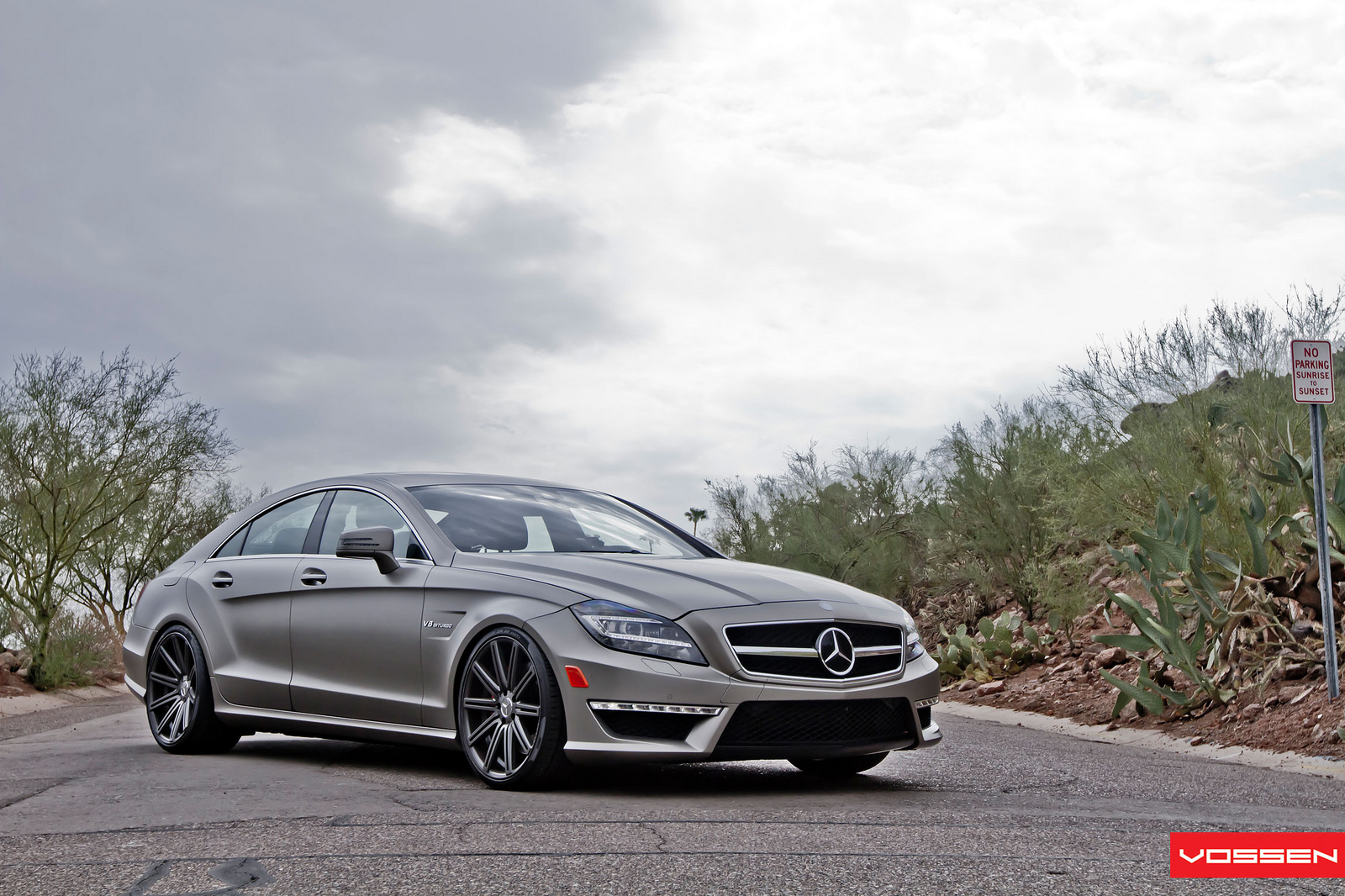 Mercedes cls63 amg on vossen 20 inch rims autoevolution for Mercedes benz 20 inch rims