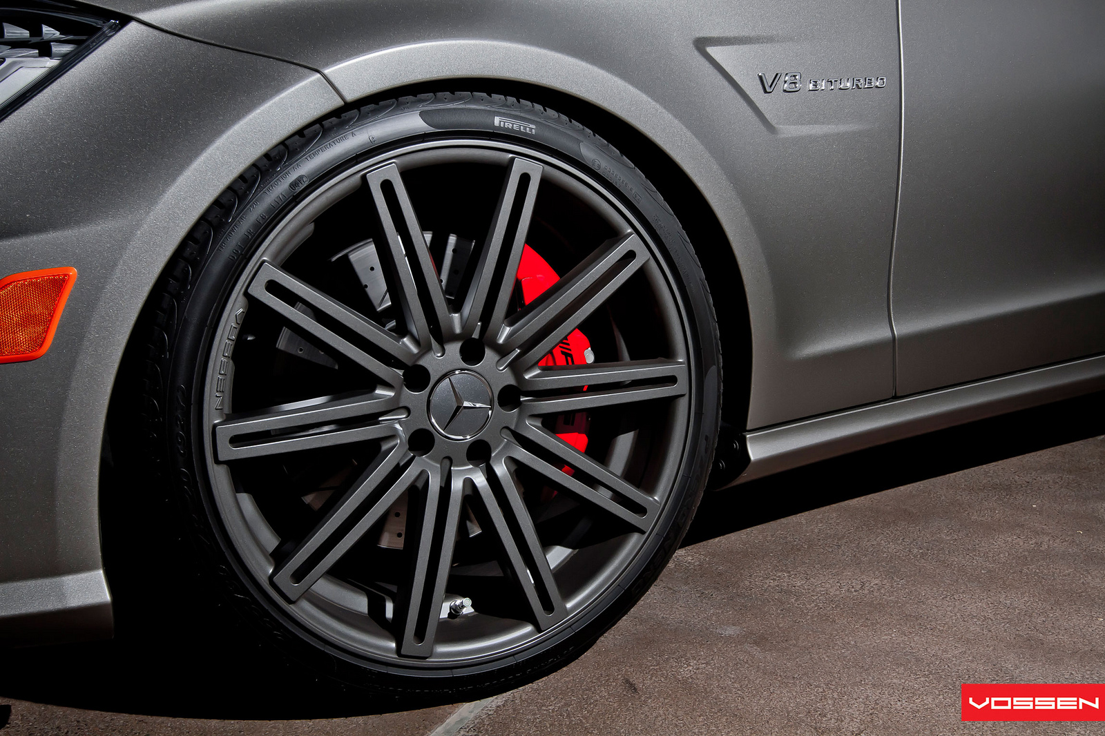 Mercedes cls63 amg on vossen 20 inch rims autoevolution for Mercedes benz 20 inch wheels