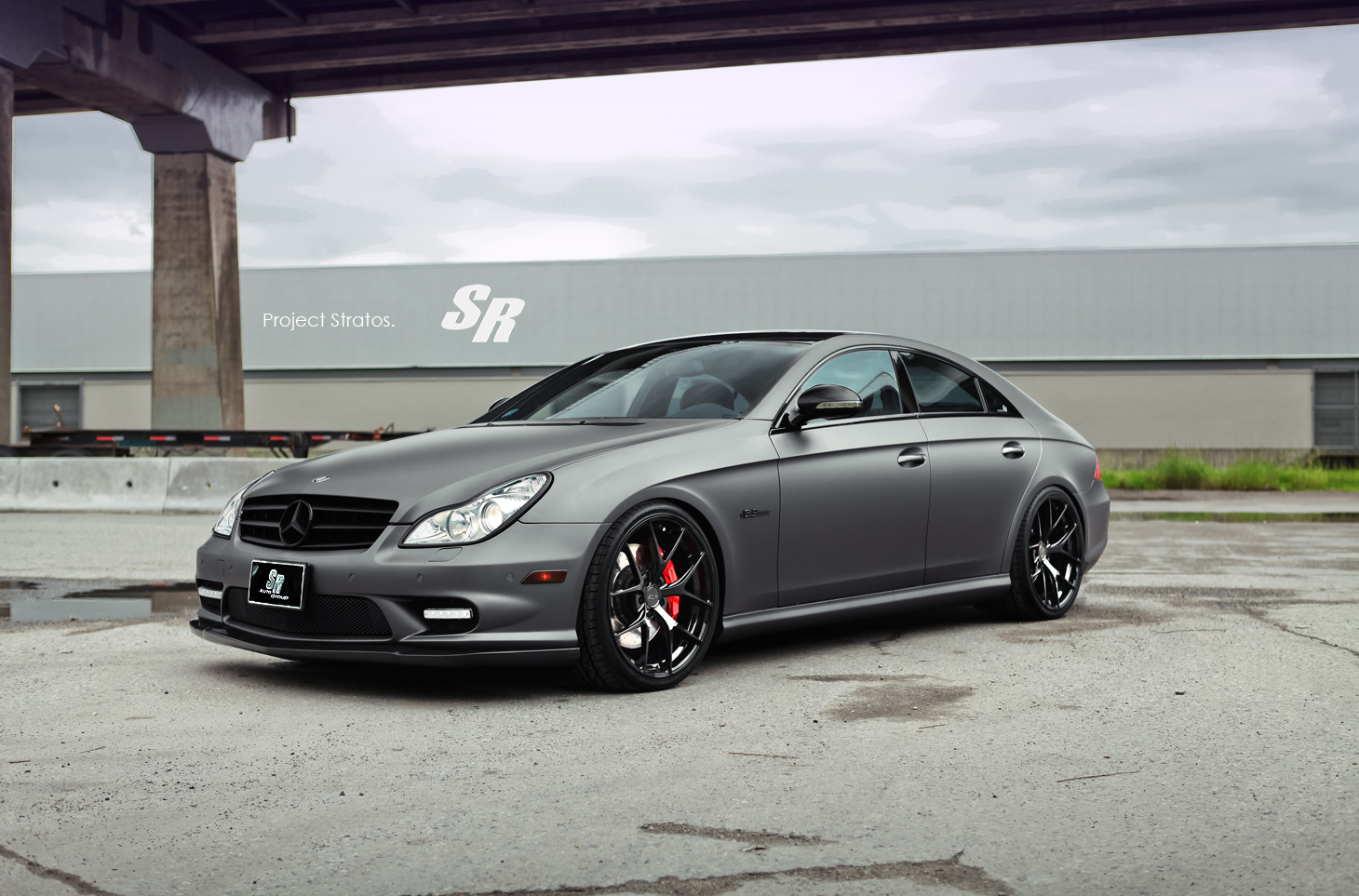 Mercedes cls63 amg stratos by sr auto for Auto mercedes benz