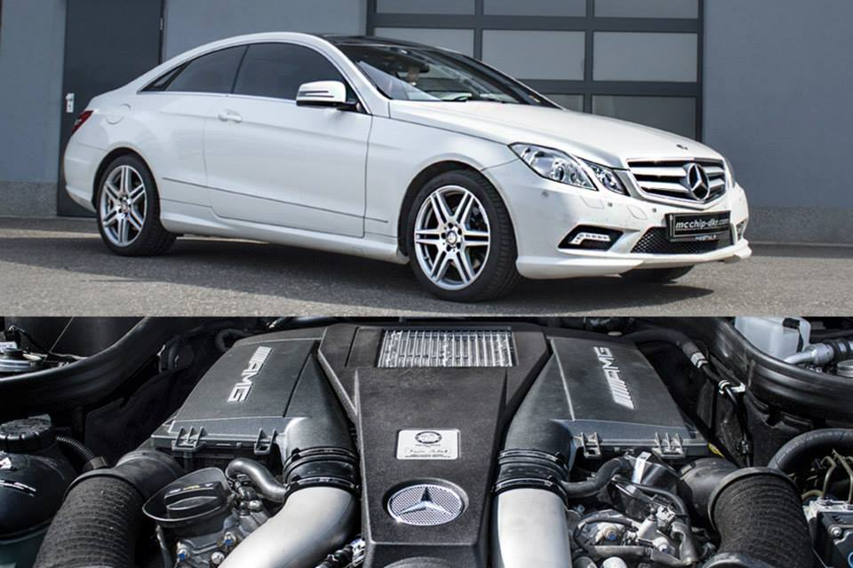 C Class Coupe 2017 >> Mercedes E-Class Coupe Gets AMG Bi-Turbo V8 Engine Swap by Mcchip - autoevolution