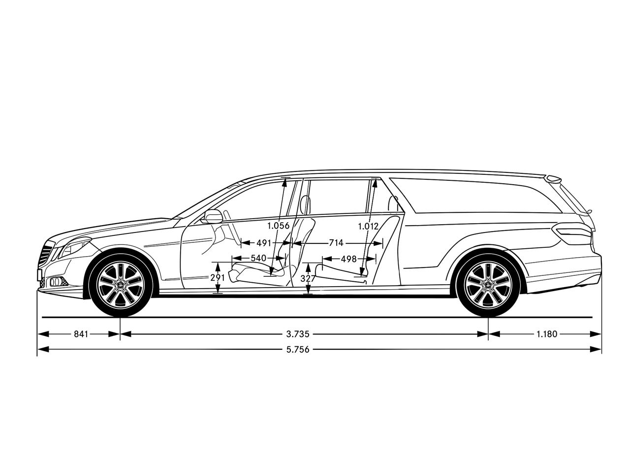 Mercedes E Class Estate Stretched Coming From Binz Autoevolution