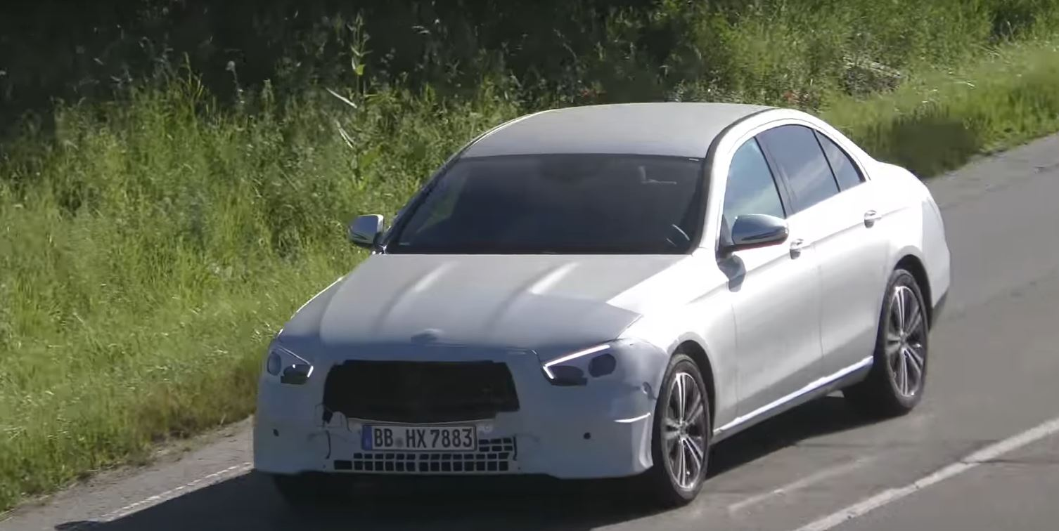 mercedes e-class sedan and wagon spied with 2020 facelift