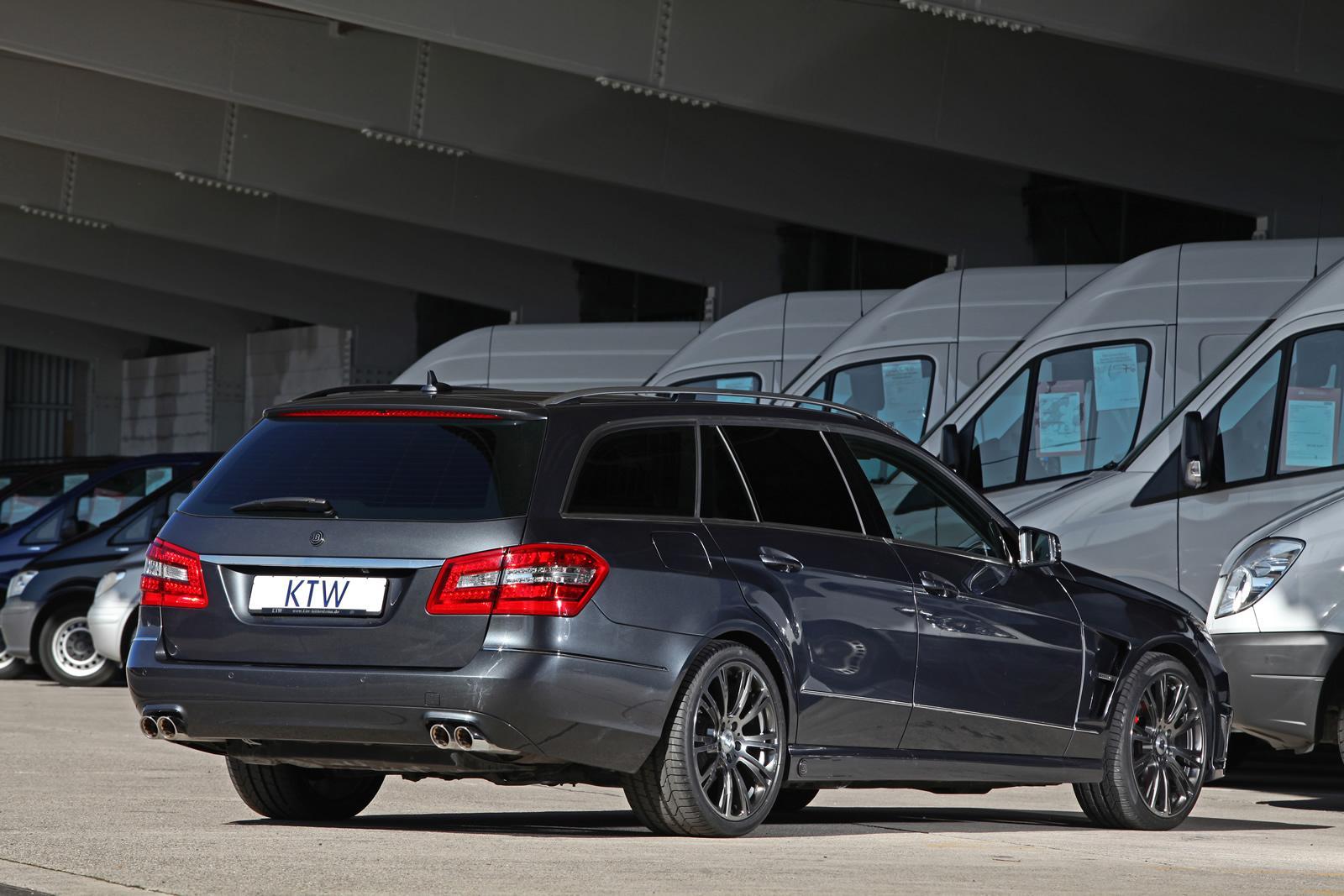 Mercedes E Class Wagon Gets Ktw Brabus Upgrade Autoevolution