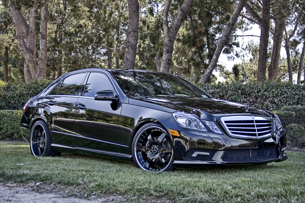 Mercedes e350 custom treatment by hess motorsports for 2007 mercedes benz e350