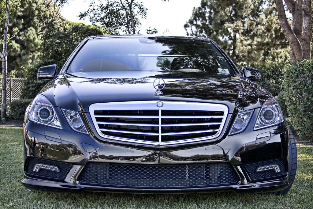 Mercedes e350 custom treatment by hess motorsports for Mercedes benz custom cars