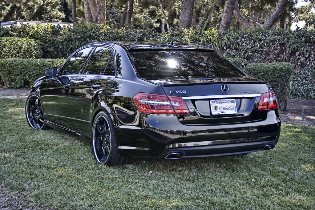 Mercedes e350 custom treatment by hess motorsports for E 350 mercedes benz