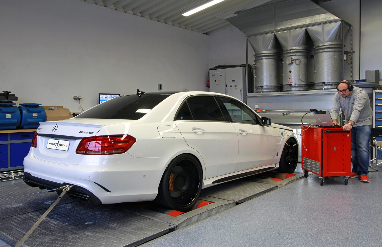 Mercedes E63 Amg Gets 850 Hp Of Poke From Posaidon Tuning