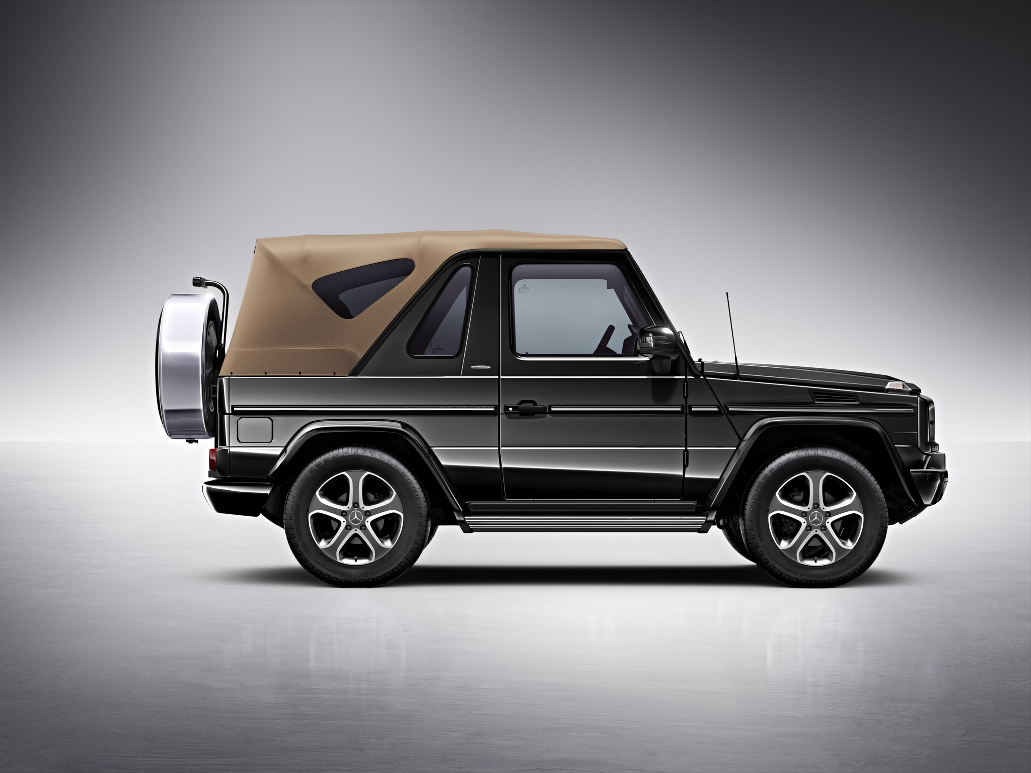 mercedes g class cabriolet goes out of production. Black Bedroom Furniture Sets. Home Design Ideas