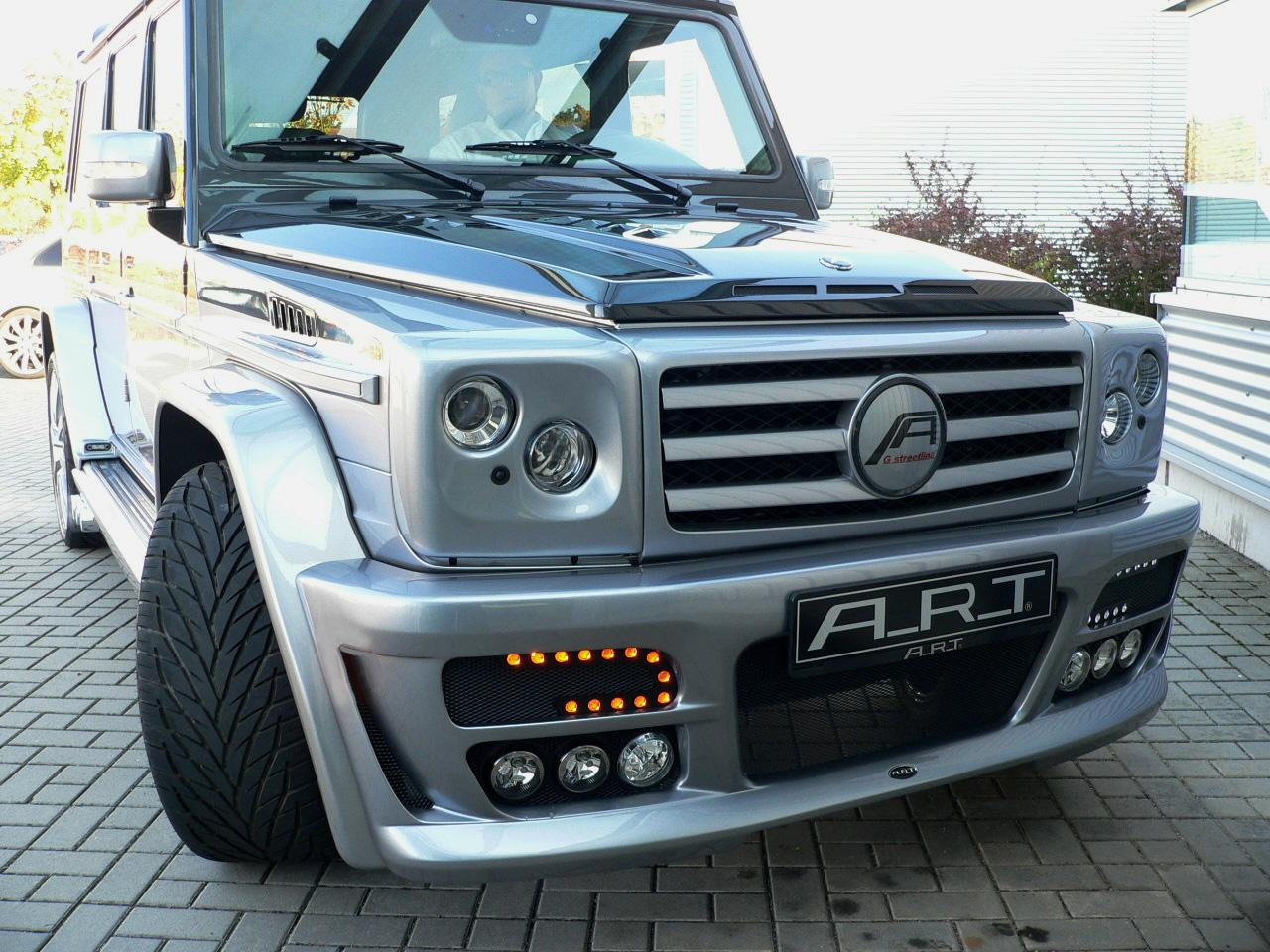 Mercedes G Klasse Becomes Art G Streetline Sterling on Sterling V8 Engine