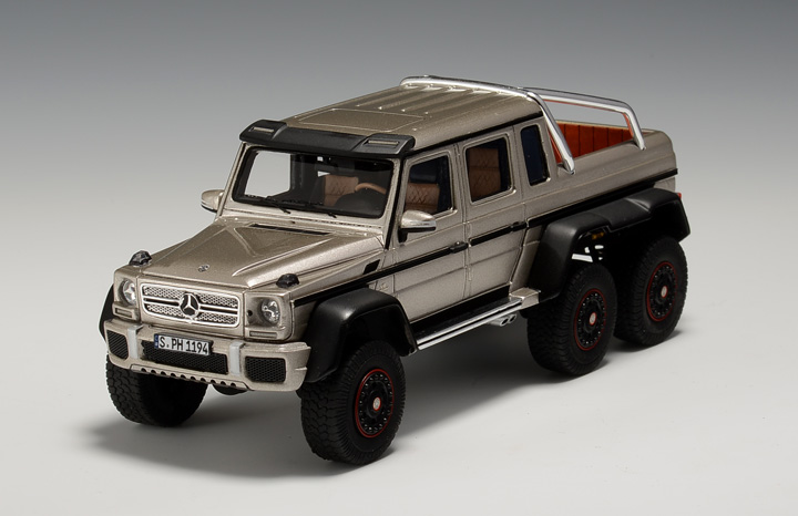mercedes g63 amg 6x6 scale models yours for 109 autoevolution. Black Bedroom Furniture Sets. Home Design Ideas