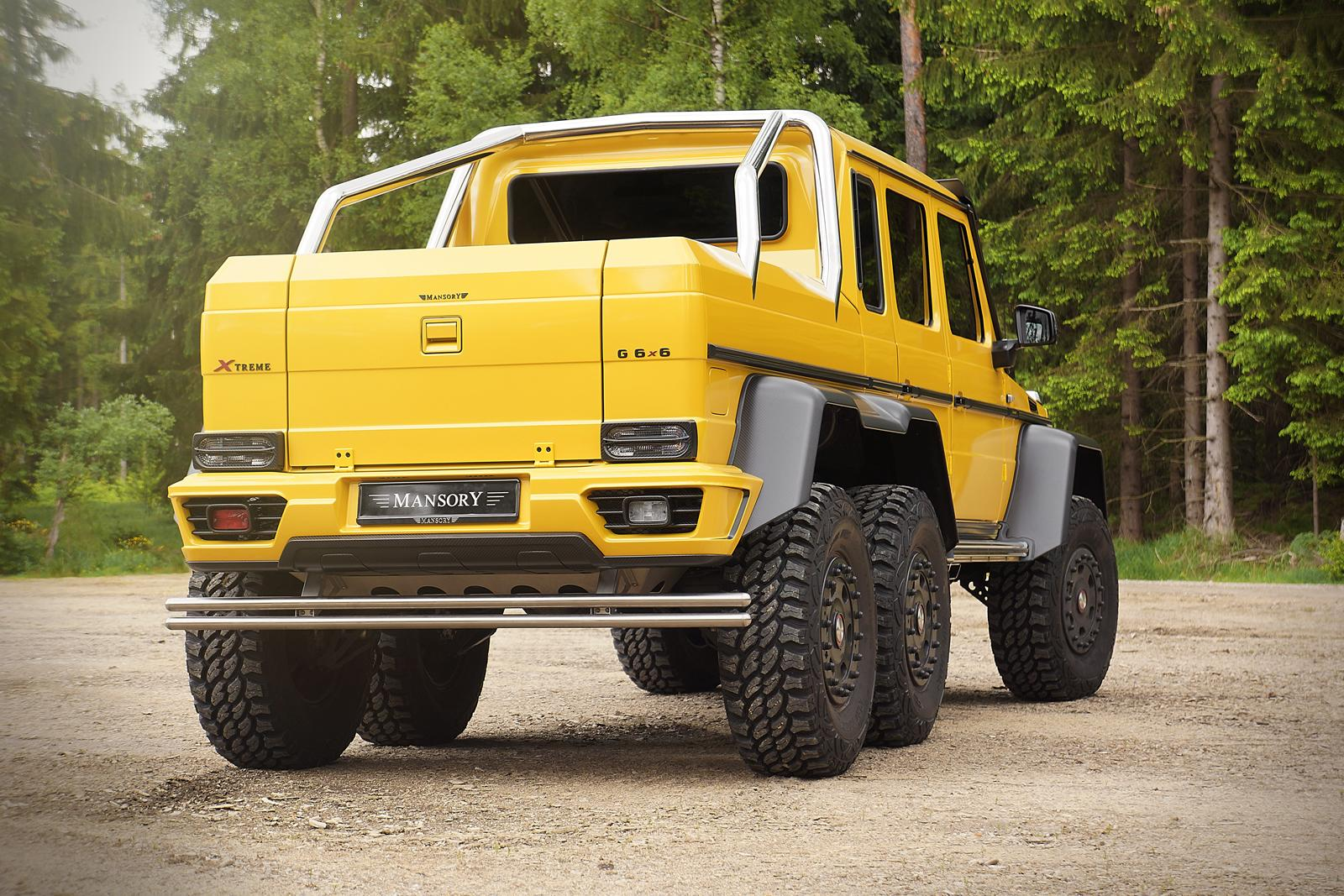 mercedes g63 amg 6x6 tuned to 840 hp by mansory stuffed. Black Bedroom Furniture Sets. Home Design Ideas