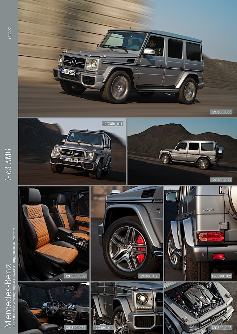 Mercedes G63 Amg First Images Autoevolution
