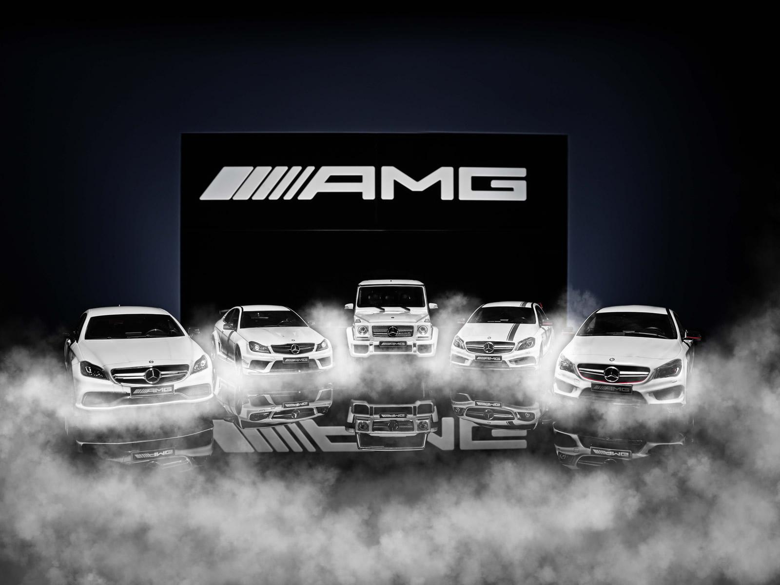 mercedes amg white series scale models