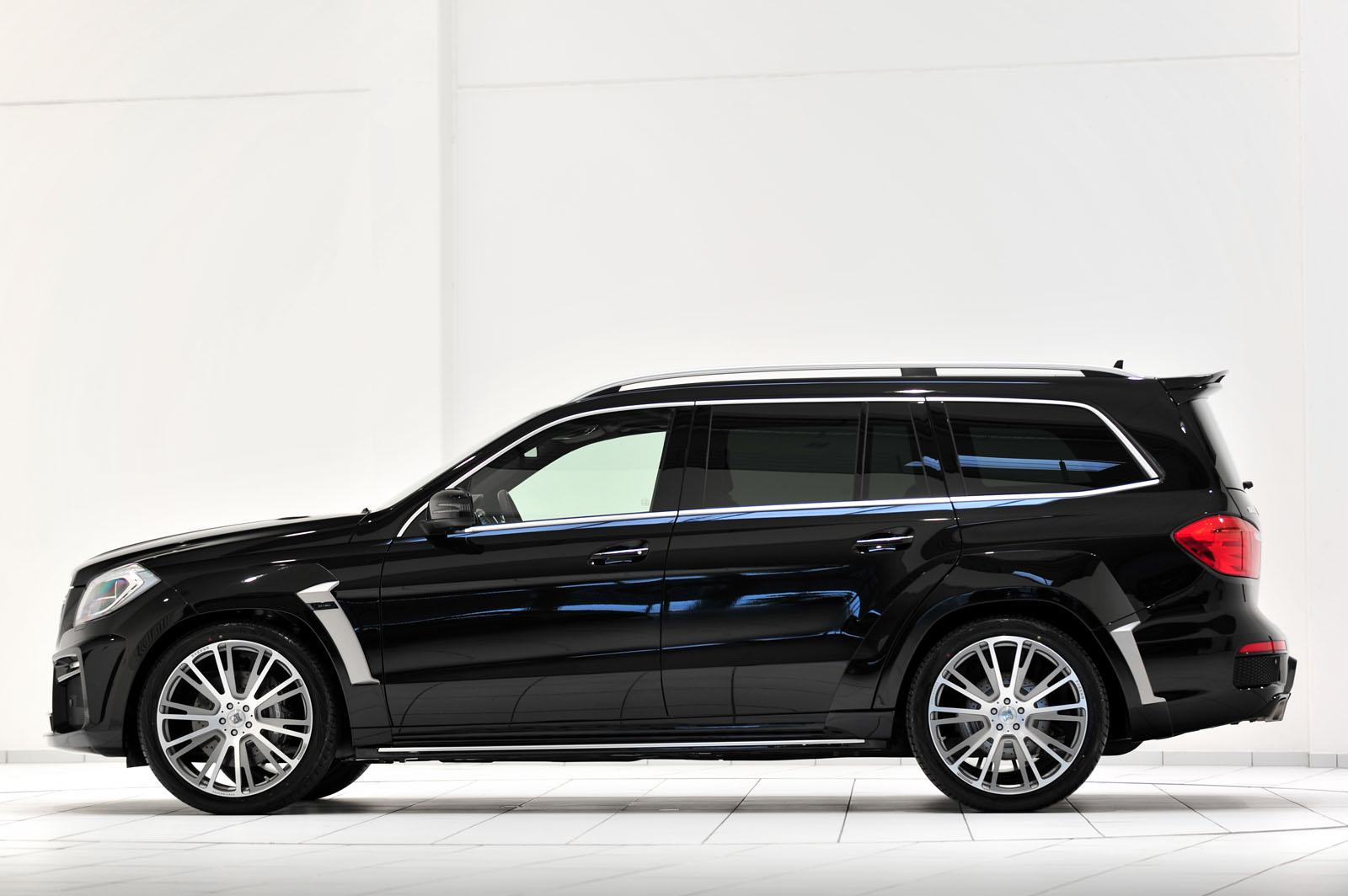 mercedes gl63 amg tuned by brabus autoevolution. Black Bedroom Furniture Sets. Home Design Ideas