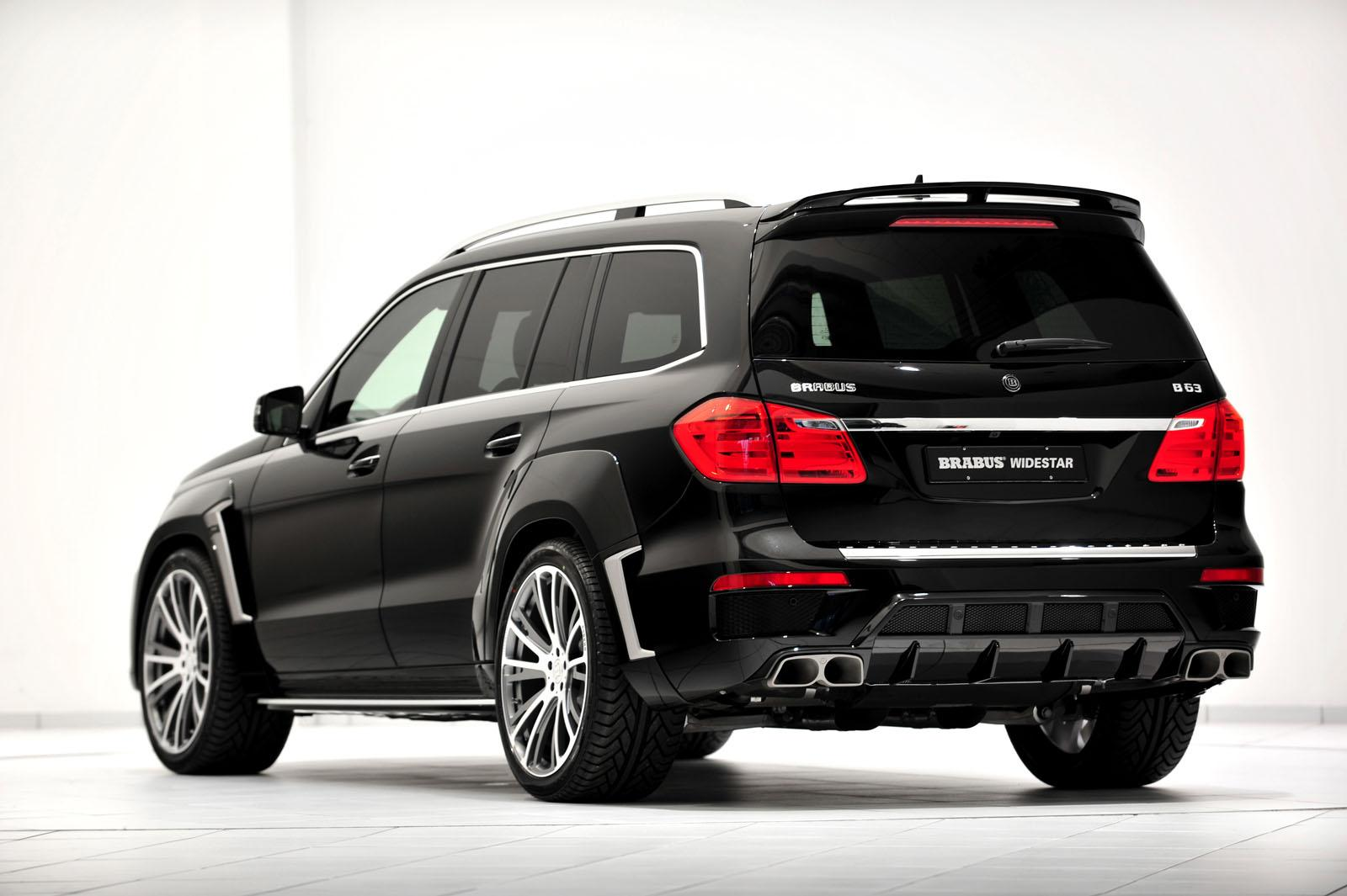 Mercedes gl63 amg tuned by brabus autoevolution for Mercedes benz gl63